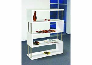 Image for Sidewinder White 5-Tier Wall Unit