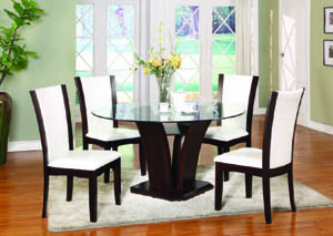"Enclave Espresso 54"" Round Dining Table"
