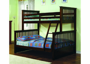 Image for Vermont Espresso Twin/Full Bunkbed (20)