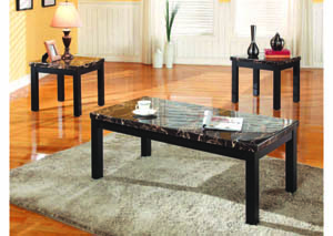 Image for Obsidian Black 3Pc Occasional Set