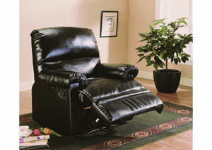 Image for Gambit Espresso Leather Recliner