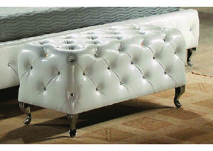 Image for White Juliet Bedroom Bench
