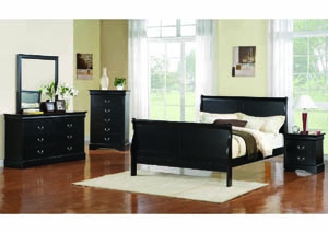Image for Louisiana Black Nightstand