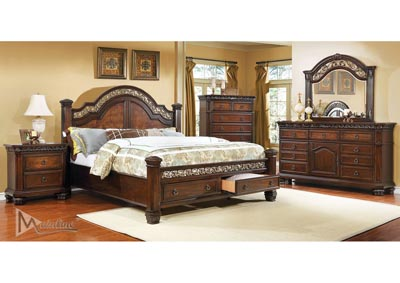 Image for Encanto 4Pc Queen Poster Bedroom Set (84200/50/60/70)