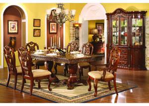 Regalia Cherry Wood 7 Pc Dining, Cherry Wood Dining Room Sets