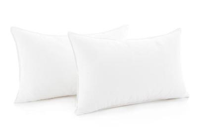 Image for Weekender Compressed Pillow, 2-Pack, King
