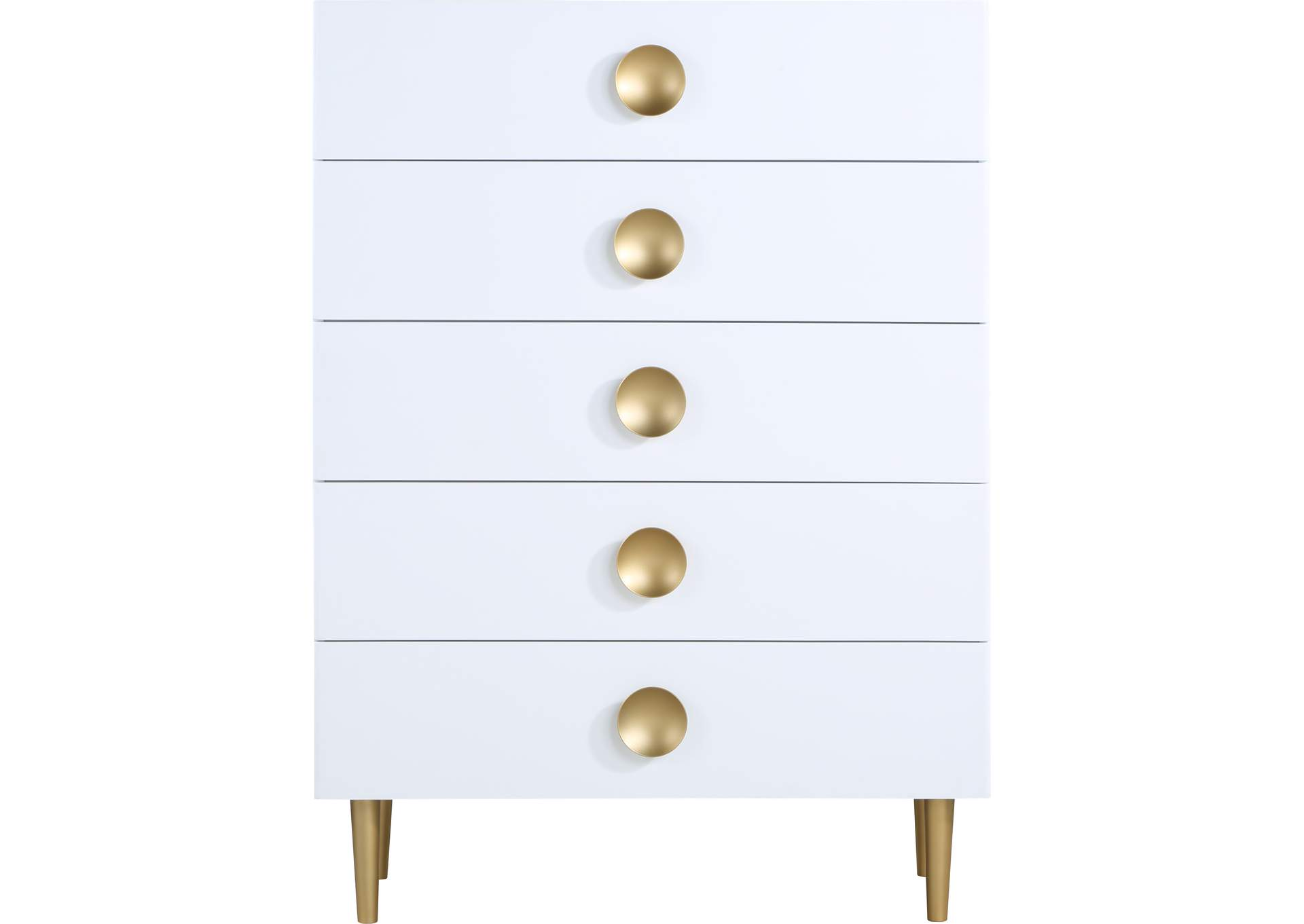 Zayne White Chest,Meridian Furniture