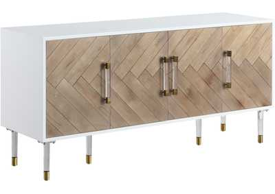 Image for Jive White Lacquer Sideboard/Buffet