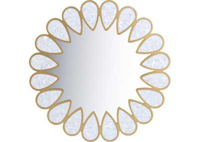 Image for Shell White Mirror
