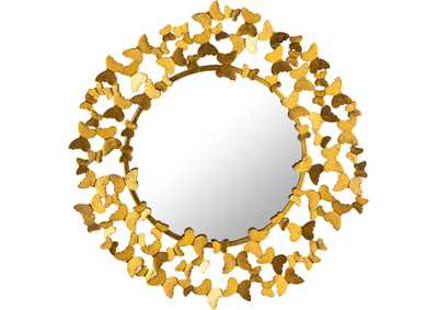 Image for Butterfly Gold Mirror