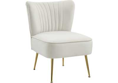 Image for Tess Cream Velvet Accent Chair