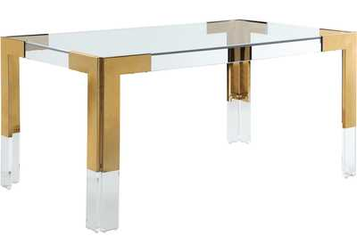 Image for Casper Rich Gold Dining Table