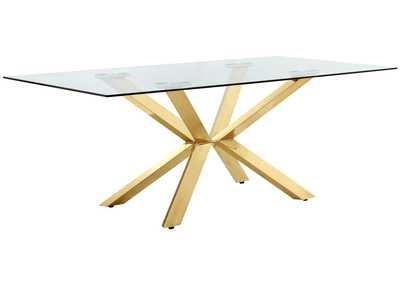 Image for Capri Gold Dining Table