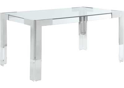 Image for Casper Rich Chrome Dining Table