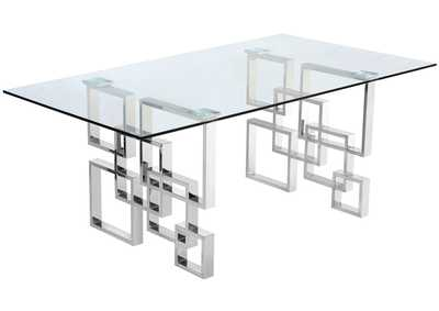 Image for Alexis Chrome Dining Table