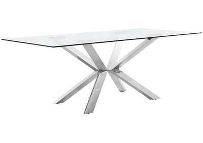 Image for Juno Chrome Dining Table