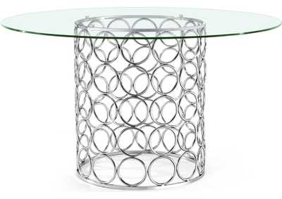 Image for Opal Chrome Dining Table