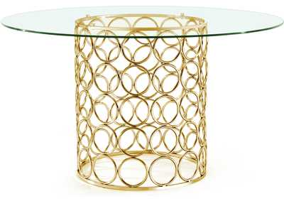 Image for Opal Gold Dining Table