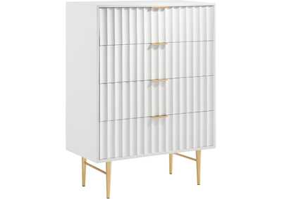 Image for Modernist White Gloss Chest