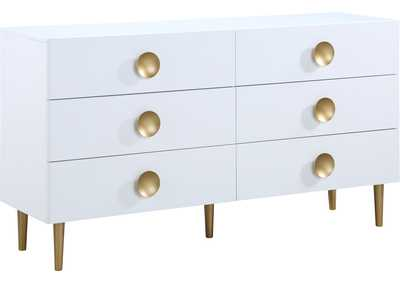 Image for Zayne White Dresser