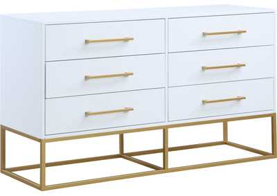 Image for Maxine White / Gold Dresser