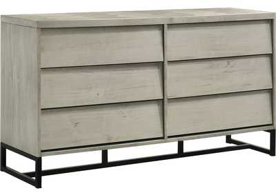 Image for Weston Grey Stone Dresser