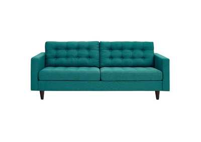 Image for Empress Teal Upholstered Fabric Sofa