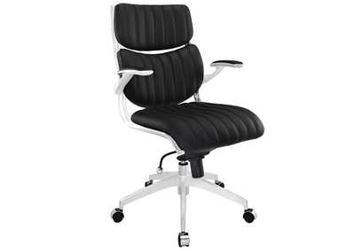 Image for Escape Black Mid Back Office Chair
