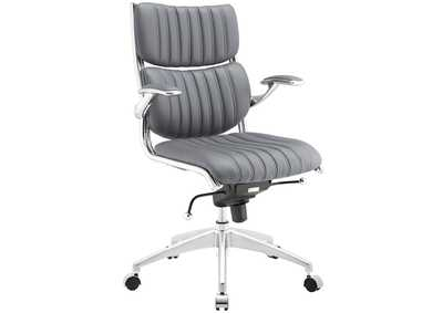 Image for Escape Gray Mid Back Office Chair