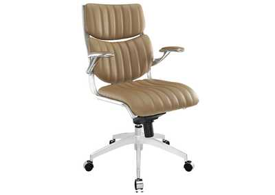 Image for Escape Tan Mid Back Office Chair