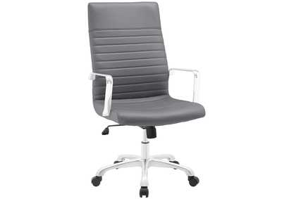 Image for Finesse Gray Highback Office Chair
