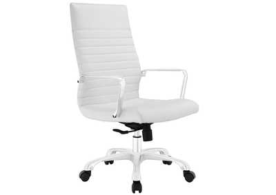 Image for Finesse White Highback Office Chair