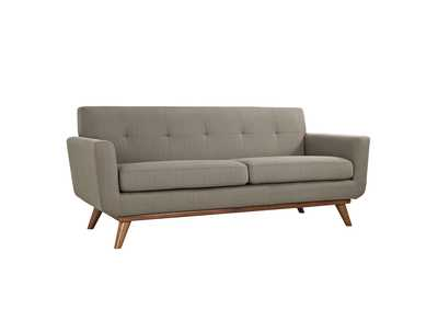 Image for Engage Granite Upholstered Fabric Loveseat