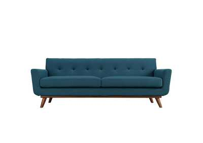 Image for Engage Azure Blue Upholstered Fabric Sofa