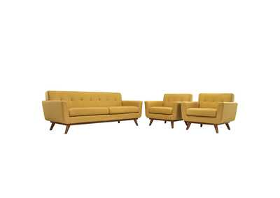 Image for Engage Citrus Armchairs and Sofa Set of 3