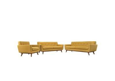 Image for Engage Citrus Sofa Loveseat and Armchair Set of 3