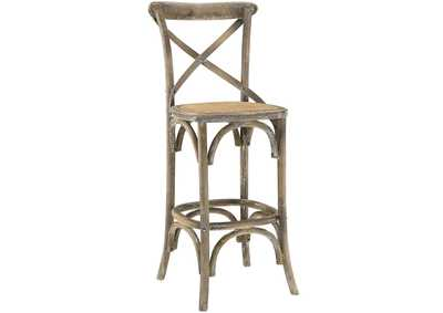 Image for Gear Gray Bar Stool
