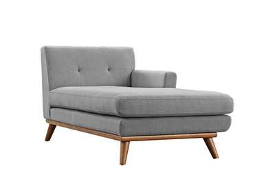 Image for Engage Expectation Gray Right-Facing Chaise