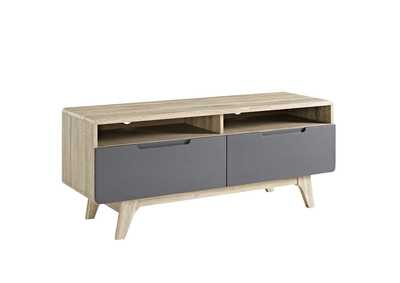 "Image for Origin Natural Gray 47"" TV Stand"