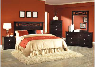 Image for B510 Prairie Sand Queen/Full Panel Head Board