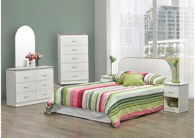 Image for B801 Gallery Queen/Full Panel Head Board