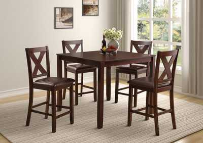 Image for D315 Stonewall Table & 4 Side Chairs - D315