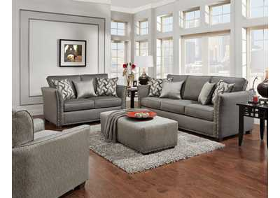 Image for U146 Mist Gray Sofa
