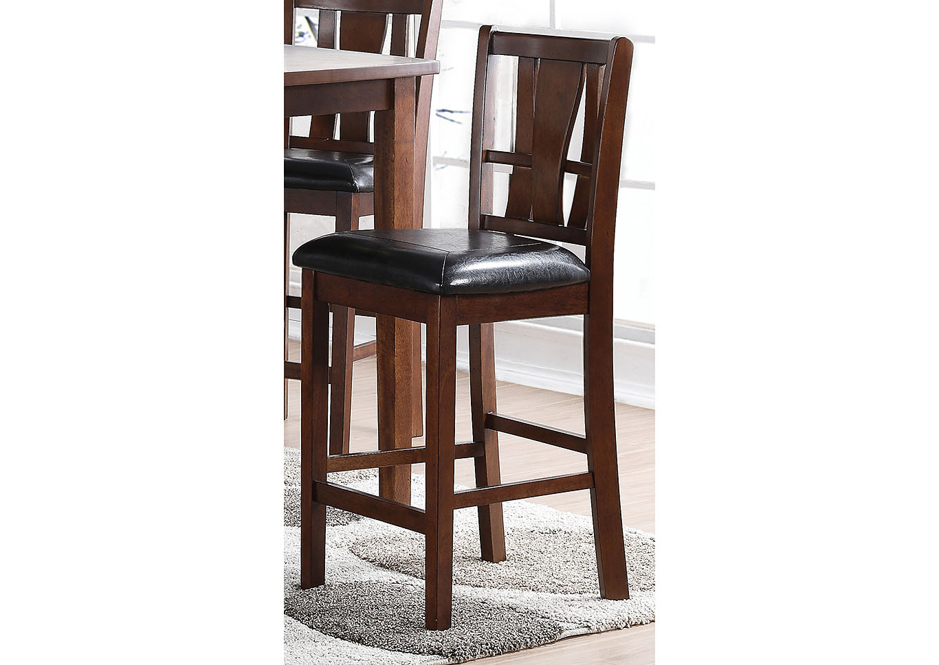 Dixon Espresso Counter Chair (Set of 2),New Classic