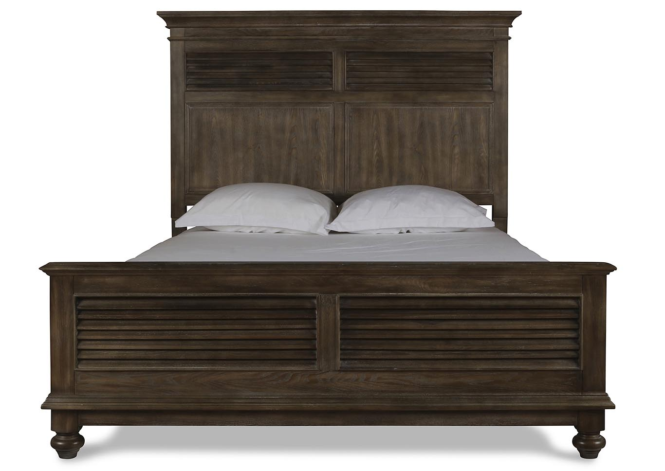Lakeport Pewter King Bed,New Classic
