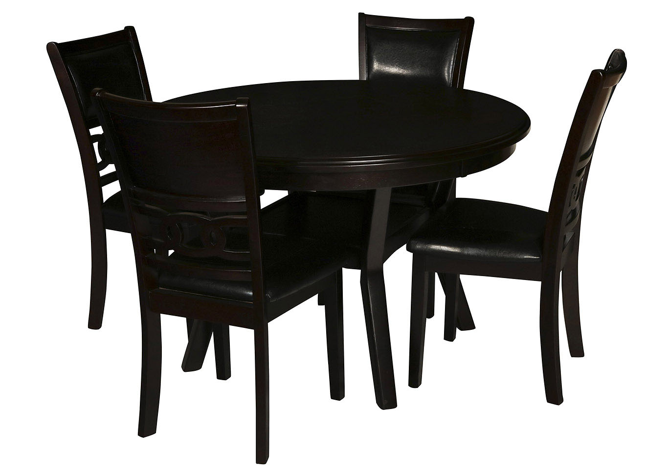 Gia Gray 5 Piece Dining Set,New Classic