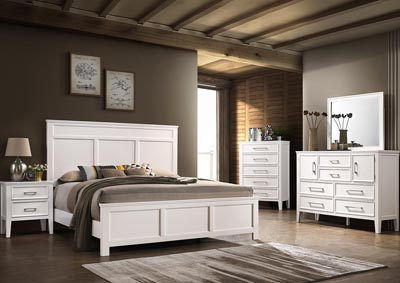 Image for Andover White Twin Bed