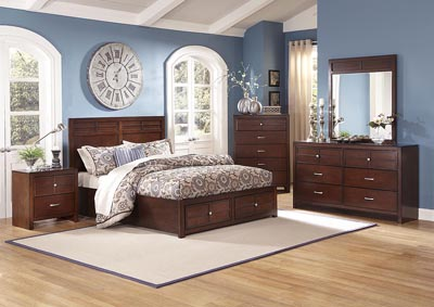 Kensington Cherry California King Bed