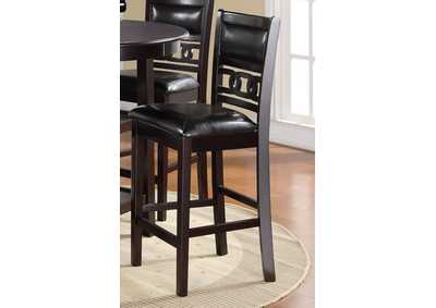 Image for Gia Ebony Counter Chairs (2/Ctn)