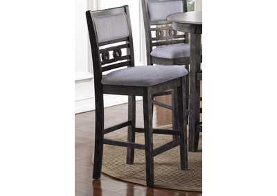 Image for Gia Gray Counter Chairs (2/Ctn)
